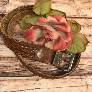 Arizona Jean Company Braided Leather Belt Large